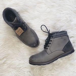Crevo Geoff Wool Ankle Gray Men's Boot